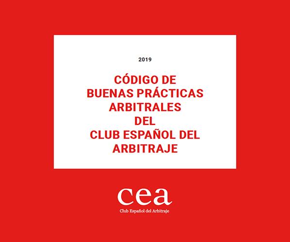 CÓDIGO DE BUENAS PRÁCTICAS ARBITRALES